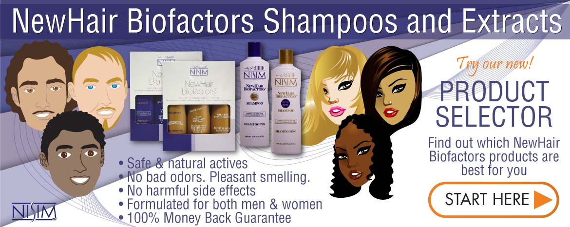Shampoo for Hair Loss and Extract for Regrowth