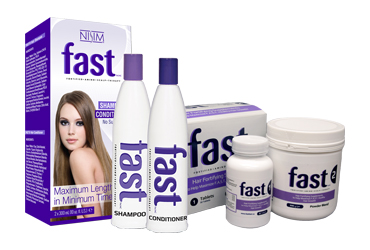 Fast Shampoo and Conditioner with FAST Hair Fortifying Supplements