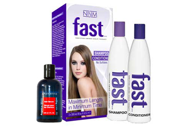 FAST Shampoo no sulfates and Argan oil hair serum