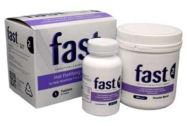FAST Hair Fortifying Supplements 2 Pack (Tablets and Powder)