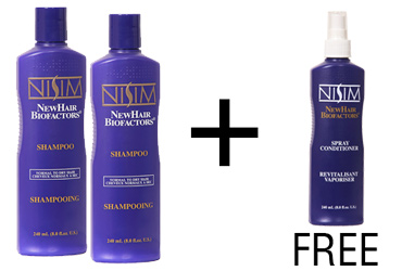 2 Normal to Dry Shampoo 8 oz./240 ml.free Spray Conditioner