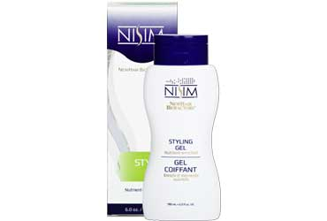 Nisim Nutrient Enriched Styling Gel