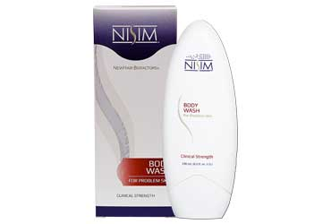 Nisim Clinical Strength Body Wash for Dry, Rough, Scaly Skin
