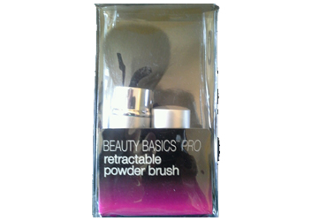 Beauty Basics Pro Retractable Brush